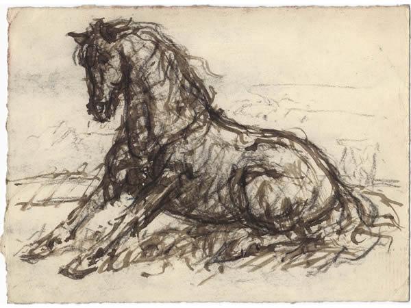 13 Zittend-paard