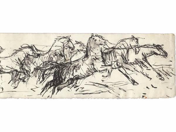 14 Rennende-paarden